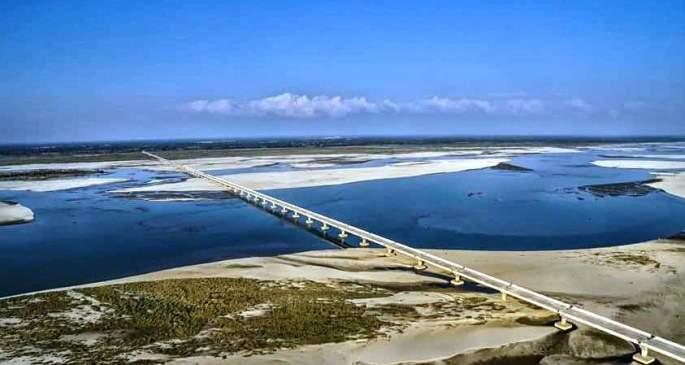 ब्रह्मपुत्र पर बने एशिया के सबसे लंबे पुल का उद्घाटन
