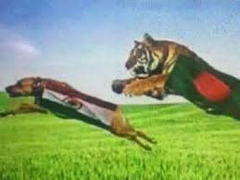 बांग्लादेश ने सेमीफाइनल से पहले किया तिरंगे का अपमान