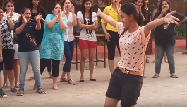 Viral Video : College girls dance video goes viral