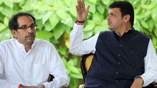 शिवसेना पर महाराष्ट्र सीएम फड़णवीस के तीखे तेवर