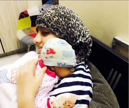 एक्ट्रेसदीपिका सिंह ने बेबी के साथ पहली बार शेयर की फोटो