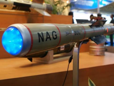 नाग मिसाइल का सफल परीक्षण, 4 किलोमीटर दूर खड़े टैंक को उड़ाया