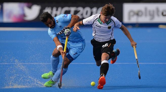 जर्मनी से हारी भारतीय हॉकी टीम