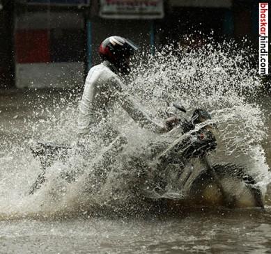 मुंबई में 24 घंटे में भारी बारिश का अनुमान, एमपी में 5 मरे