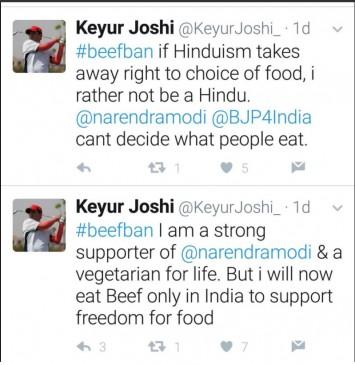 'अगर हिंदुत्व खाने की आजादी छीनता है तो मैं हिंदू न होना पसंद करूंगा.'