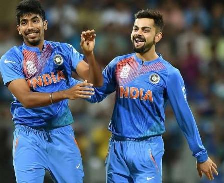 T20 रैंकिंग : बुमराह दूसरे स्थान पर, कोहली बने नंबर वन