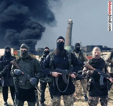 ISIS ने मोसुल की नूरी मस्जिद की तबाह