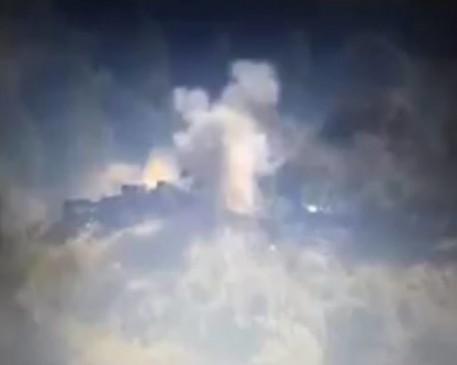 भारतीय बंकर उड़ाने का वीडियो जारी कर बोला पाकिस्तान- मार गिराए भारत के पांच जवान
