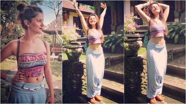 रुबीना बाली में मना रही है अपना वेकेशन, देखें तस्वीरें