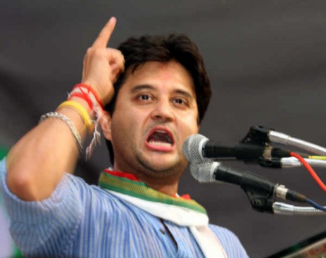MP: दशहरा मैदान में होगा सिंधिया का सत्याग्रह, जख्मी किसानों से मिलेंगे