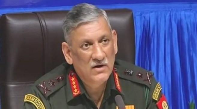 हमें कश्मीर के लोगों की चिंता, गलत सूचनाएं कर रहीं गुमराहः आर्मी चीफ बिपिन रावत