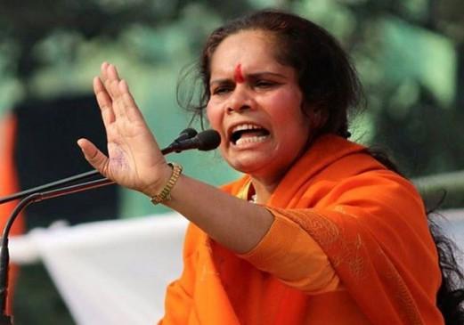 फिर विवादों में साध्वी प्राची कहा, एक बेटी के बदले ले आओ 1 हजार बेटियां