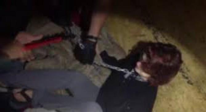 दो महीने से कंटेनर में जानवरों की तरह कैद थी ये महिला