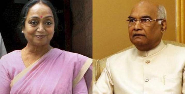 राष्ट्रपति चुनाव: 90 नामांकन रद्द, कोविंद और मीरा में सीधा मुकाबला