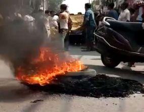बिहार में कारोबारी की हत्या के बाद मचा बवाल, पुलिस फायरिंग में एक की मौत