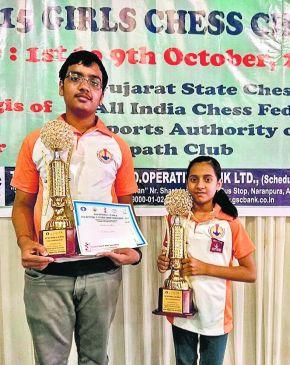 जूनियर शतरंज नेशनल चैंपियनशिप : दिव्या और संकल्प ने जीता गोल्ड
