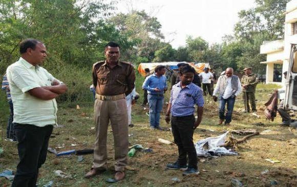 झारखंड : डिफ्यूज के दौरान थाने में फटा बम, ASI और चौकीदार की मौत