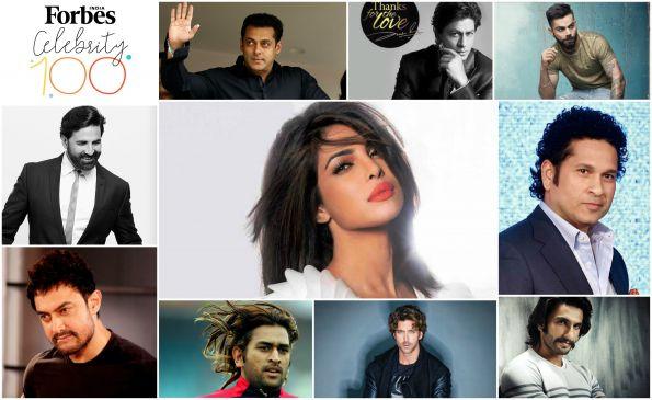 Forbes Celebrity 100: सलमान फिर बने 'सुल्तान', टॉप 10 में प्रियंका का भी नाम