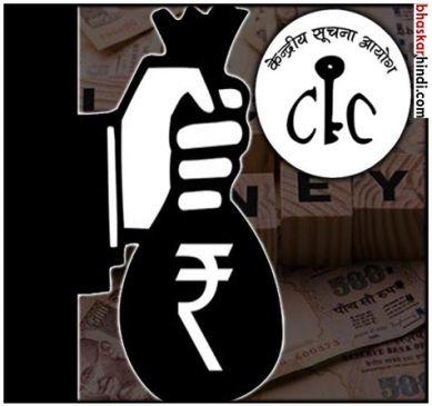 CIC का वित्त मंत्रालय को आदेश- बताएं, नोटबंदी के बाद कितना कालाधन आया?