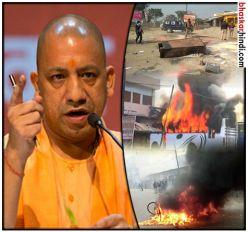 कासगंज हिंसा: रविवार देर रात फिर आगजनी, 20 लाख के मुआवजे का ऐलान