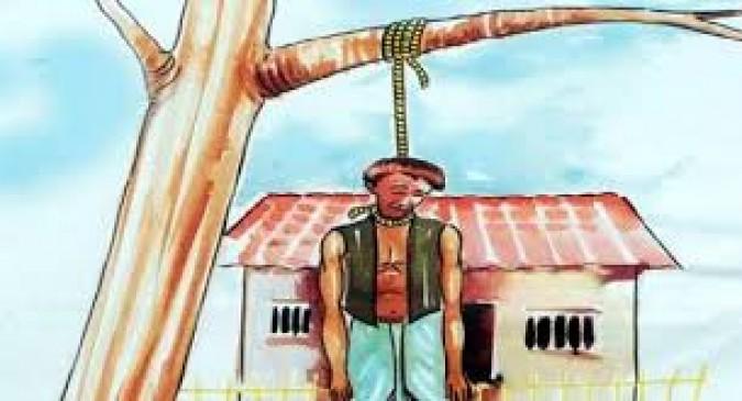 किसान ने लगाई फांसी, फसल के नुकसान का नहीं मिला था मुआवजा