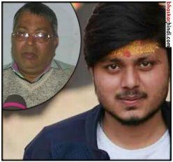 कासगंज हिंसा : चंदन के पिता को जान से मारने की धमकी, कहा- हमसे दुश्मनी मत लो