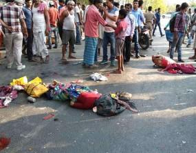 समस्तीपुर में भीषण सड़क हादसा, 10 की मौत, 4-4 लाख मुआवजे का ऐलान