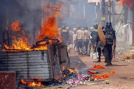 पश्चिम बंगाल: आसनसोल में 30 उपद्रवी गिरफ्तार, इलाके में इंटरनेट सेवा बंद