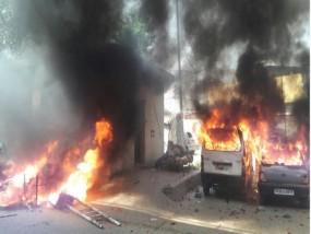 भिंड में हिंसा फैलाने के आरोपी बीजेपी नेता गिरिराज जाटव गिरफ्तार