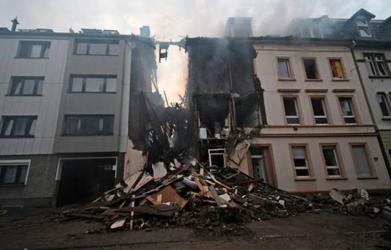 जर्मनी के वुपरटल शहर की एक बिल्डिंग में ब्लास्ट, 25 लोग घायल