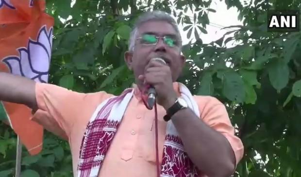 बीजेपी समर्थकों पर हमला करने वालों को मिलेंगी गोलियां- दिलीप घोष