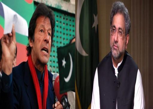 पाकिस्तान आम चुनाव: पीएम अब्बासी और इमरान खान के नामांकन पत्र हुए खारिज
