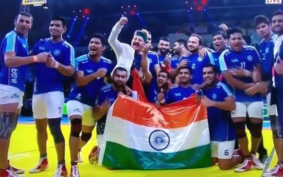 Kabaddi Masters 2018 : भारत बना चैंपियन, ईरान को 44-26 से हराया