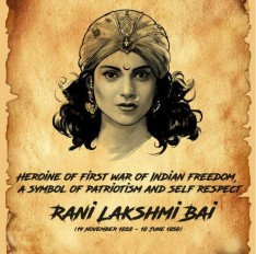 कगंना ने दी रानी लक्ष्मीबाई को श्रद्धांजलि, बलिदान दिवस पर किया याद