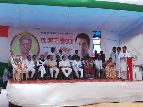 राहुल ने परिजनों से मिल कृषि वैज्ञानिक खोब्रागड़े को दी श्रद्धांजलि, किसानों से की चर्चा