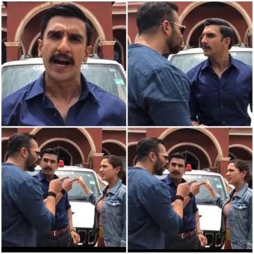 रणवीर सिंह की फिल्म सिम्बा का फर्स्ट लुक रिलीज, याद आ गया सिंघम