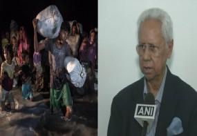 'म्यांमार पर रोहिंग्या नागरिकों को वापस लेने का दबाव बनाए भारत सरकार'