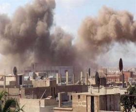सीरिया: अमेरिकी लड़ाकू विमानों ने बरसाए बम, 50 से अधिक लड़ाकों की मौत