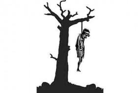 किसान ने खेत में लगे पेड़ पर लगाईं फांसी, मुआवजे को लेकर था चिंतित
