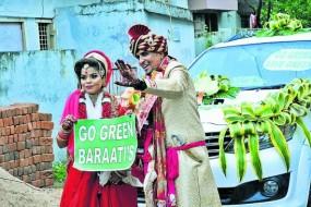 एक विवाह ऐसा भी: 'गो-ग्रीन सेव ग्रीन' थीम पर हुई शादी लिम्का बुक में दर्ज, दिया पर्यावरण का संदेश