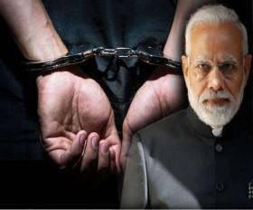 पीएम मोदी पर रासायनिक हमले कीझूठी जानकारी देने वाला गिरफ्तार