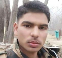 J&K : आतंकियों से मुठभेड़ में शहीद हुए मध्य प्रदेश के जवान रंजीत सिंह तोमर