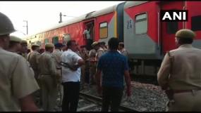 हावड़ा-राजधानी एक्सप्रेस में बम की खबर निकली झूठी, 2 घंटे देरी से रवाना हुई ट्रेन