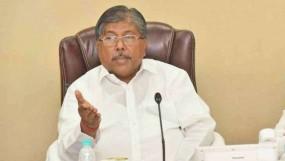 चंद्रकांत पाटील ने कहा - क्या वाहनों की तोड़फोड़ करने से मिलेगा आरक्षण