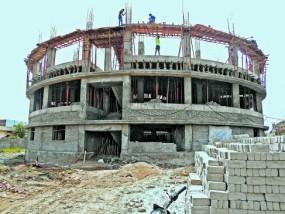 RTO भवन का 65 फीसदी कार्य को 2 माह में पूर्ण करने की जद्दोजहद