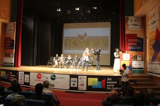'सरगोशियां' की स्क्रीनिंग के साथ खत्म हुआ कश्मीर वर्ल्ड फिल्म फेस्टिवल