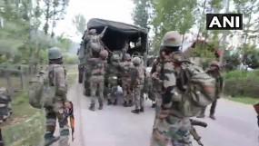 J&K: हंदवाड़ा में एक आतंकी ढेर, अनंतनाग ग्रेनेड हमले में 5 जवान घायल