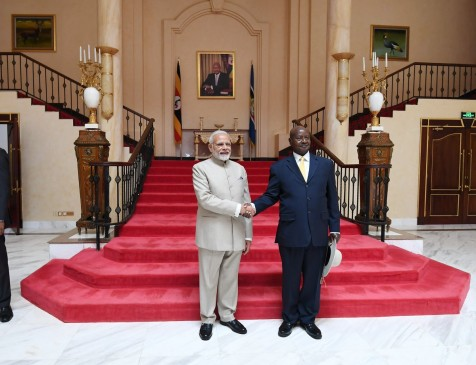 भारत-युगांडा के बीच 200 मिलियन डॉलर की टू लाइन आफ क्रेडिट पर बनी सहमति, 4 MOU साइन