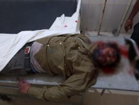 मुठभेड़ में मारा गया 80 हजार का इनामी डकैत, इंस्पेक्टर को भी लगी गोली