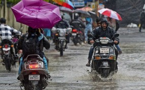 आंख-मिचौली के बाद जमकर बरसे बदरा, रिकॉर्ड 282 मिमी बरसात